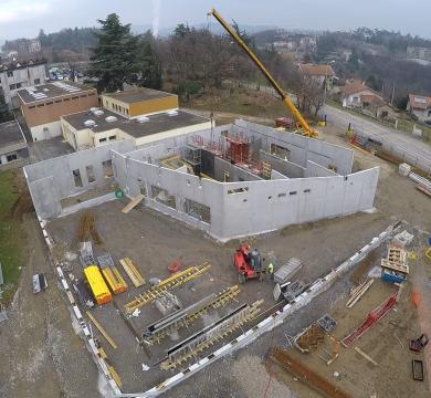 Restructuration et extension du collège Les Perrières