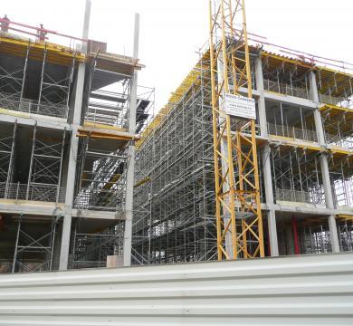 Construction d'une médiathèque